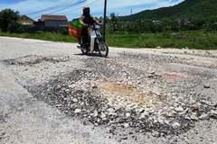 Con đường 5 tỷ ở Thanh Hóa nhanh hỏng 'bậc nhất Việt Nam'