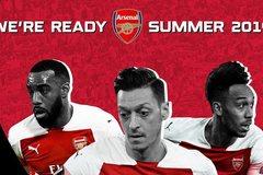 Lịch du đấu Hè 2019 của Arsenal