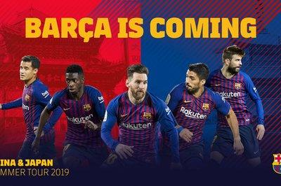 Lịch du đấu Hè 2019 của Barca