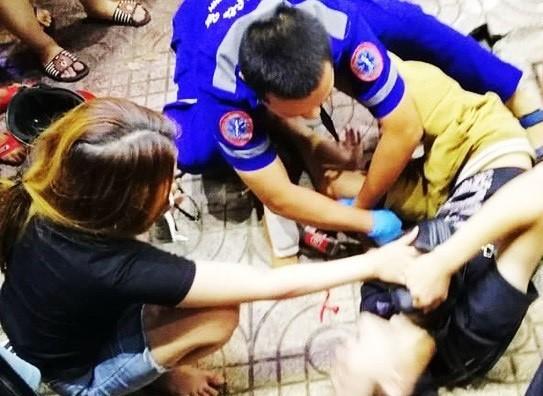 tai nạn giao thông,xe điên,Sài Gòn,bị thương,bệnh viện