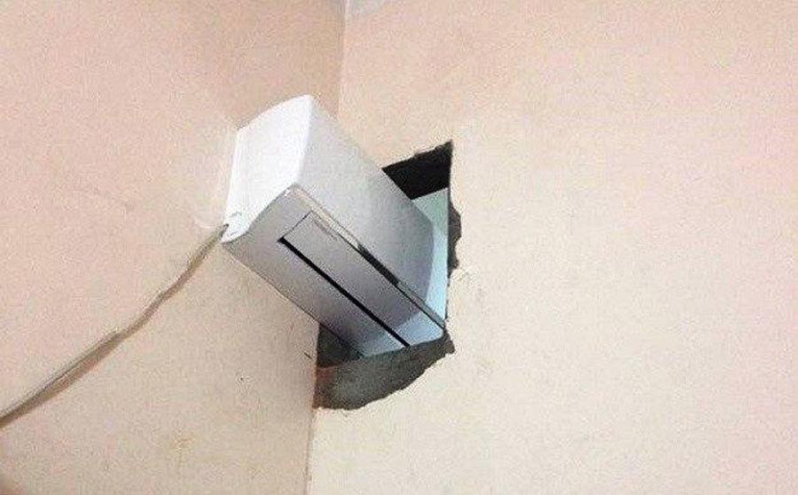 Sai lầm khi lắp điều hòa gây tốn điện, nhanh hỏng