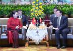 Chủ tịch Quốc hội tiếp Bí thư Tỉnh ủy Giang Tô