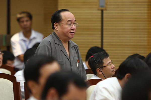 Đại biểu Hà Nội đề nghị Giám đốc Sở TN&MT đọc lại luật Đất đai