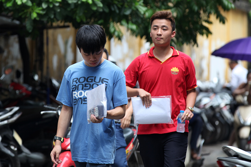 Đã chấm xong hơn 219 nghìn bài thi trắc nghiệm của Hà Nội