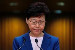 Lãnh đạo Hong Kong thừa nhận dự luật dẫn độ 'đã chết'