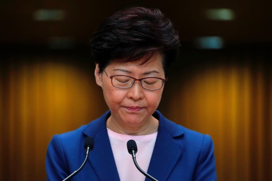 Hong Kong,Carrie Lam,luật dẫn độ,biểu tình
