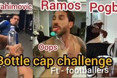 """Ibrahimovic, Pogba khiến fan phát sốt với """"Thử thách nắp chai"""""""