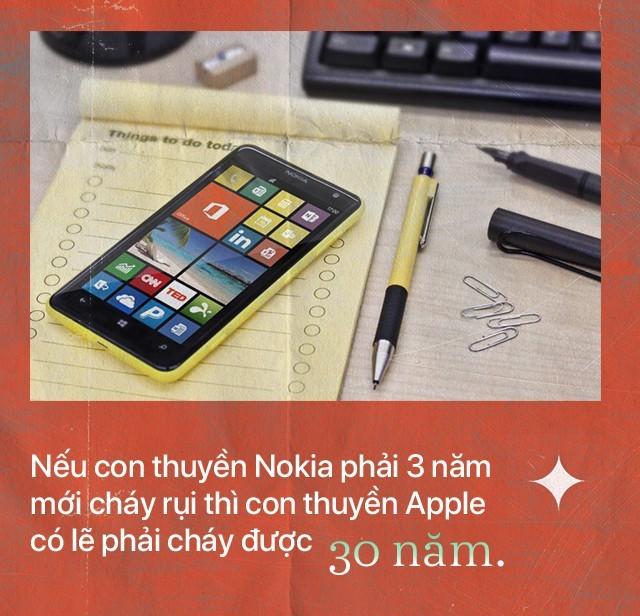 Apple có thể lâm vào tình cảnh của Nokia ngày trước hay không?