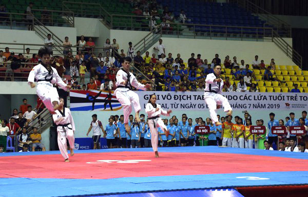 More than 1,000 athletes taking part in national taekwondo champs