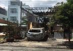 Quán cà phê ở Đồng Nai cháy rụi, nghi bị ném bom xăng