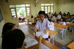 Thí sinh bị đình chỉ phải hủy toàn bộ kết quả bài thi THPT quốc gia