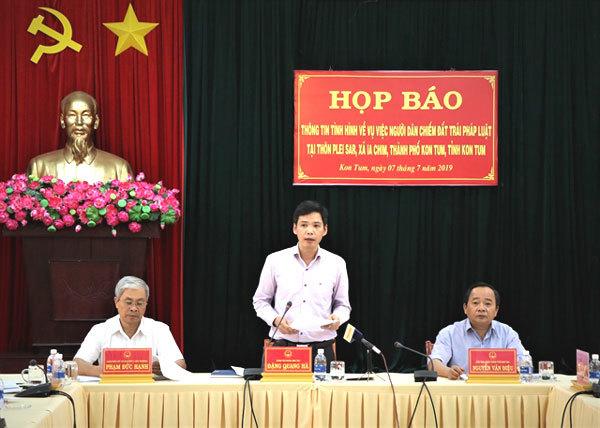 Kon Tum land dispute resolved