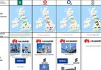 Tất cả nhà mạng lớn ở Anh đều chọn Huawei để triển khai 5G