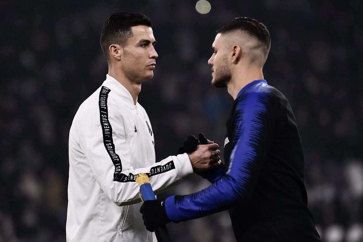 Juventus,Mauro Icardi,Cristiano Ronaldo,Ronaldo,Maurizio Sarri,Inter Milan