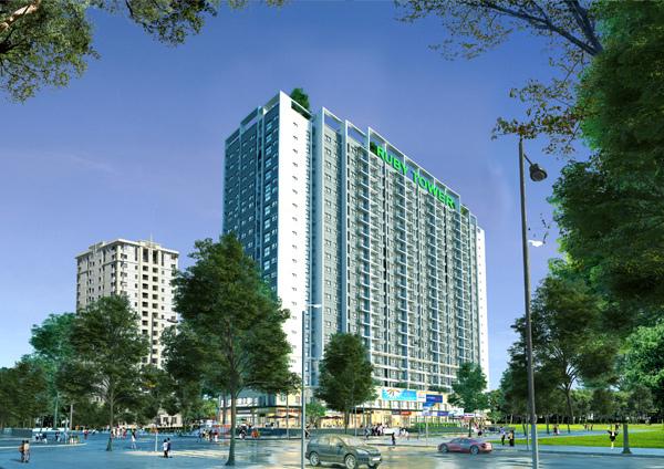 Xuất hiện khu căn hộ xanh đáng sống ở Thanh Hóa