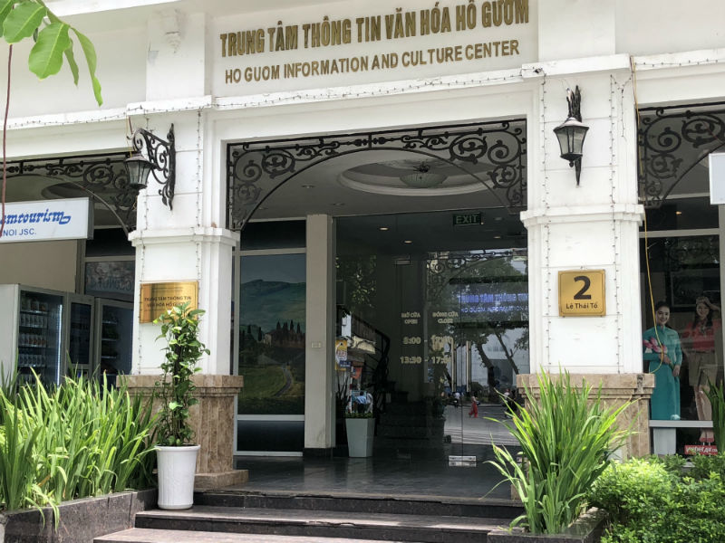 Cultural centre on Hoan Kiem Lake illegally leased for business