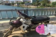 Cụ ông ở Quảng Nam nhảy sông tự tử để lại sổ khám bệnh