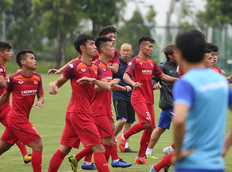 U22 Việt Nam,HLV Park Hang Seo