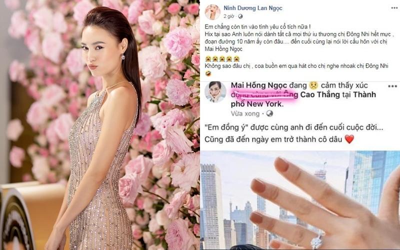 Sao Việt đua nhau nhái ảnh Đông Nhi khoe nhẫn cầu hôn của Ông Cao Thắng