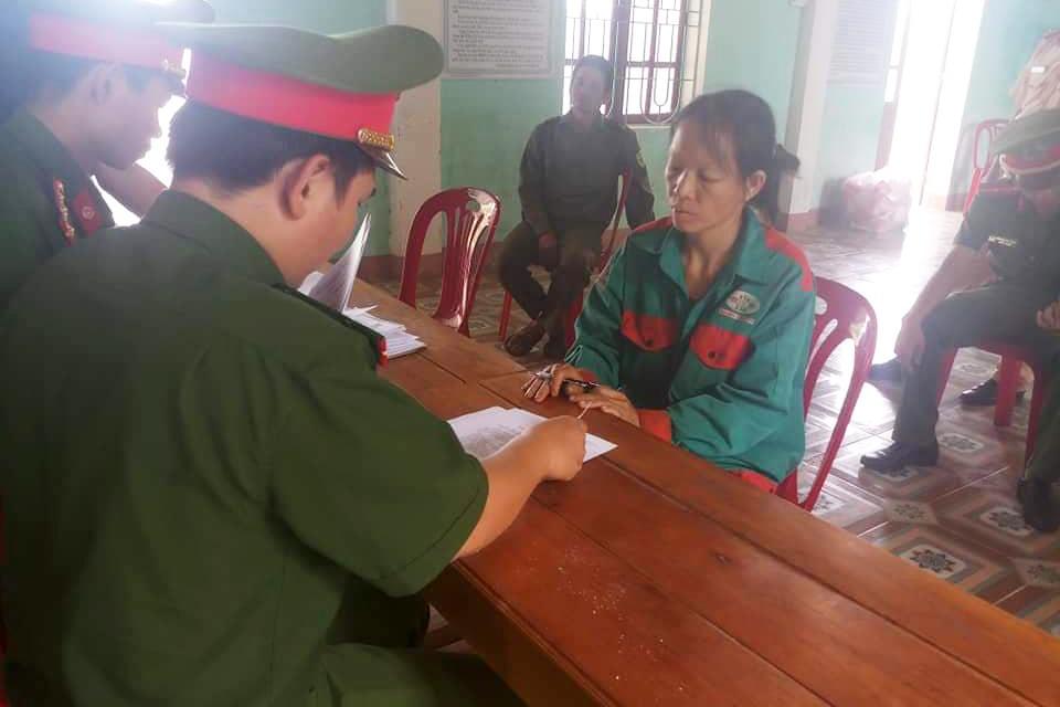 Chị nông dân Hà Tĩnh đốt cỏ ruộng gây cháy rừng bị khởi tố
