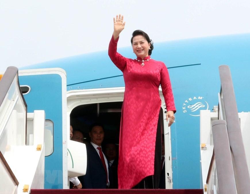 Nguyễn Thị Kim Ngân,Chủ tịch QH Nguyễn Thị Kim Ngân,Việt-Trung