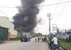 Cháy lớn ở nhà máy dược phẩm Syntech, Hải Dương