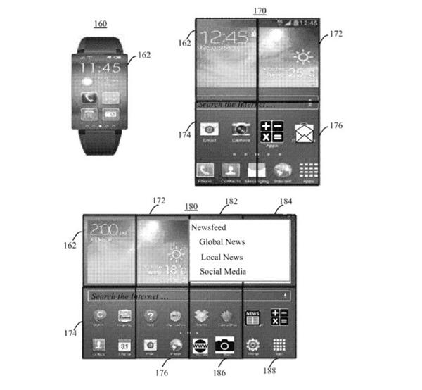 Mẫu smartwatch 8 trong 1, biết biến hình thành điện thoại, máy tính bảng
