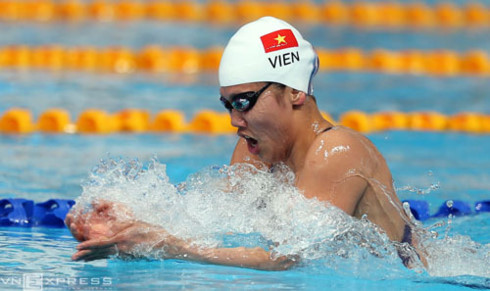Vietnam's top swimmer Anh Vien ready to compete at FINA World Champs