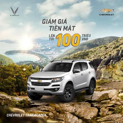 Chevrolet Trailblazer - 'bạn đồng hành' lý tưởng của gia đình Việt