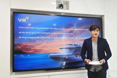 Khách hàng VIB đầu tiên nhận vé du lịch châu Á bằng du thuyền