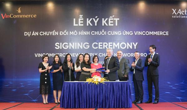 VinCommerce 'bắt tay' XAct xây dựng chuỗi cung ứng chuẩn thế giới