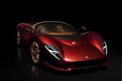 Vừa lộ diện, siêu xe De Tomaso bị tố sao chép thiết kế của Ferrari