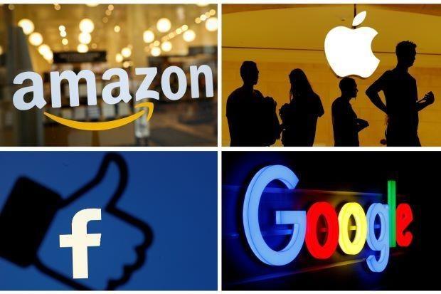 Amazon,Apple,Facebook,Google
