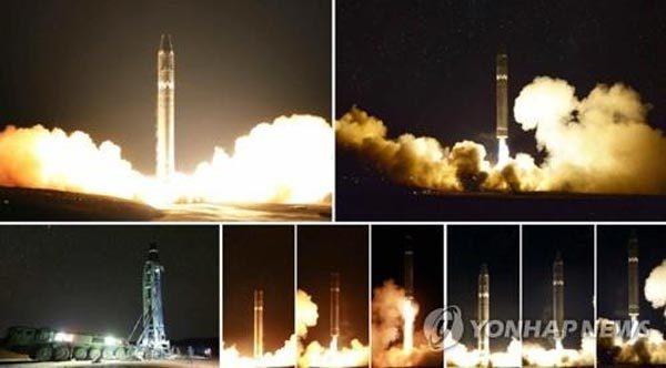 Triều Tiên,Mỹ,tên lửa đạn đạo,tên lửa ICBM,vũ khí