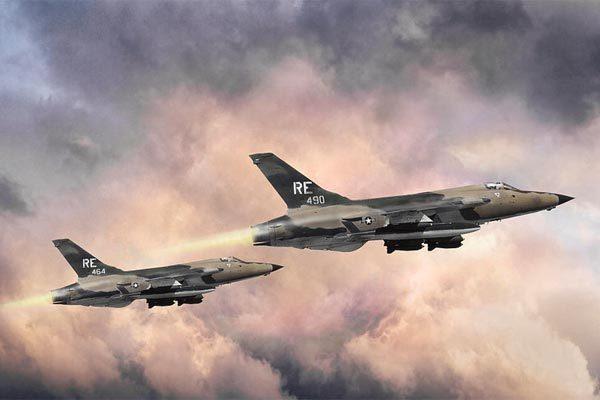 Chiến cơ Thần sấm từng 'gãy cánh' trên bầu trời Việt Nam