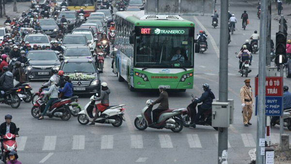 xe buýt,xe buýt ở hà nội,vận tải công cộng