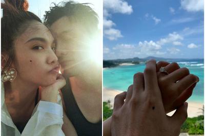 'Nữ thần thanh xuân Đài Loan' được bạn trai kém tuổi trao nhẫn kim cương cầu hôn