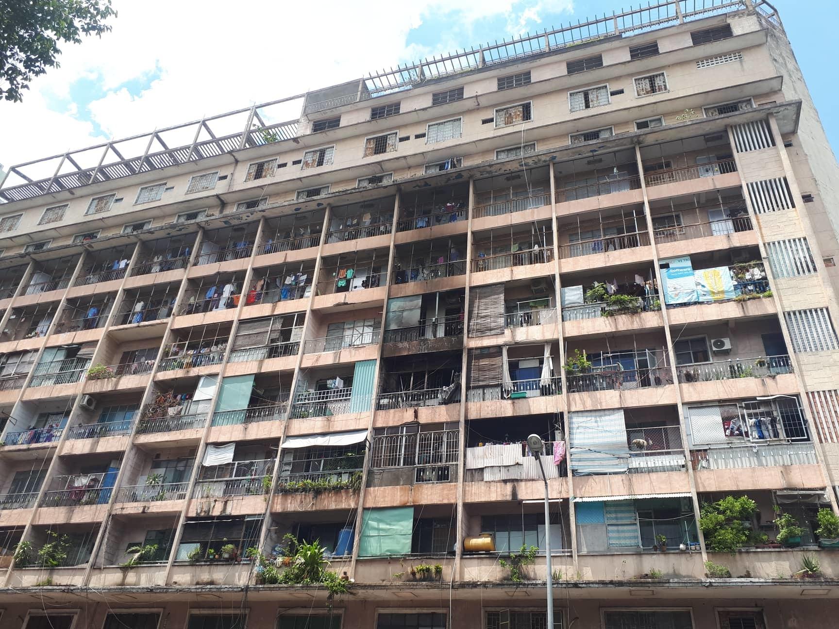 Cháy ký túc xá ở trung tâm Sài Gòn, giải cứu 28 người