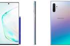 Galaxy Note 10 và Note 10+ rò rỉ hình ảnh chính thức