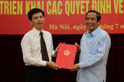 Triển khai quyết định bổ nhiệm Thứ trưởng Bộ GTVT
