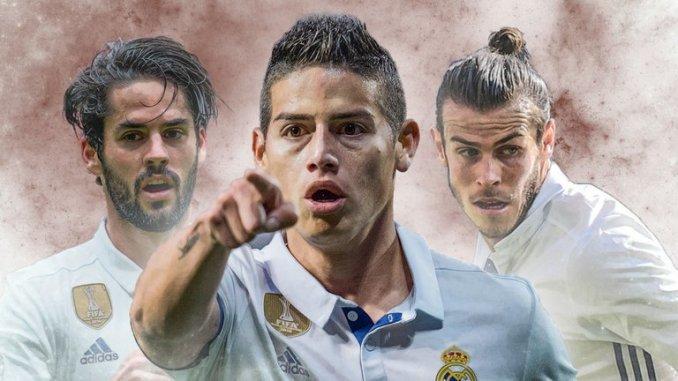 Real Madrid,Paul Pogba,Gareth Bale,Isco,James Rodriguez