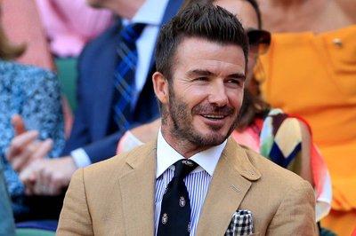 David Beckham gây sốt Wimbledon vì quá đẹp trai