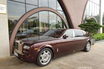 """Đại gia """"điếu cày"""" Lê Thanh Thản sở hữu bao nhiêuxe Rolls-Royce?"""