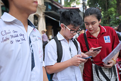 Đăng ký nhận điểm thi THPT quốc gia 2019 miễn phí qua điện thoại