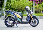 Dân chơi Hà Nội chi 600 triệu lột xác Honda SH 150i