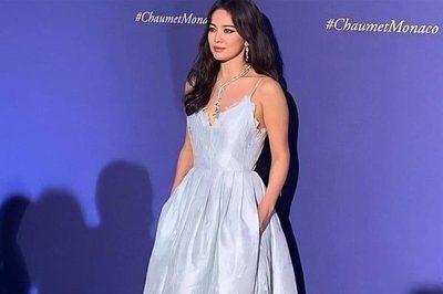Song Hye Kyo tươi cười rạng rỡ, diện váy xẻ sâu hậu ly hôn