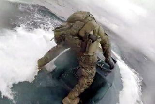 Cận cảnh đặc nhiệm rượt bắt tàu ngầm chở hàng tấn ma túy