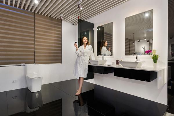 Cực chất với thiết bị phòng tắm cao cấp Clara