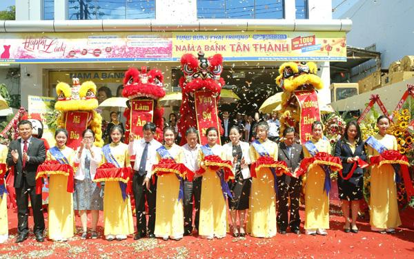 Nam A Bank mở rộng mạng lưới giao dịch tại Bà Rịa Vũng Tàu