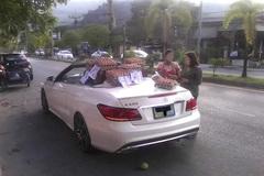 Mang Mercedes tiền tỷ đi bán trứng dạo, nữ tài xế khiến cả phố kinh ngạc
